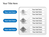 PowerPoint Slide - This PowerPoint diagram slide is an ideal way to represent a process flow.