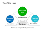 PowerPoint Slide - This PowerPoint diagram slide is ideal to represent three choices or options.