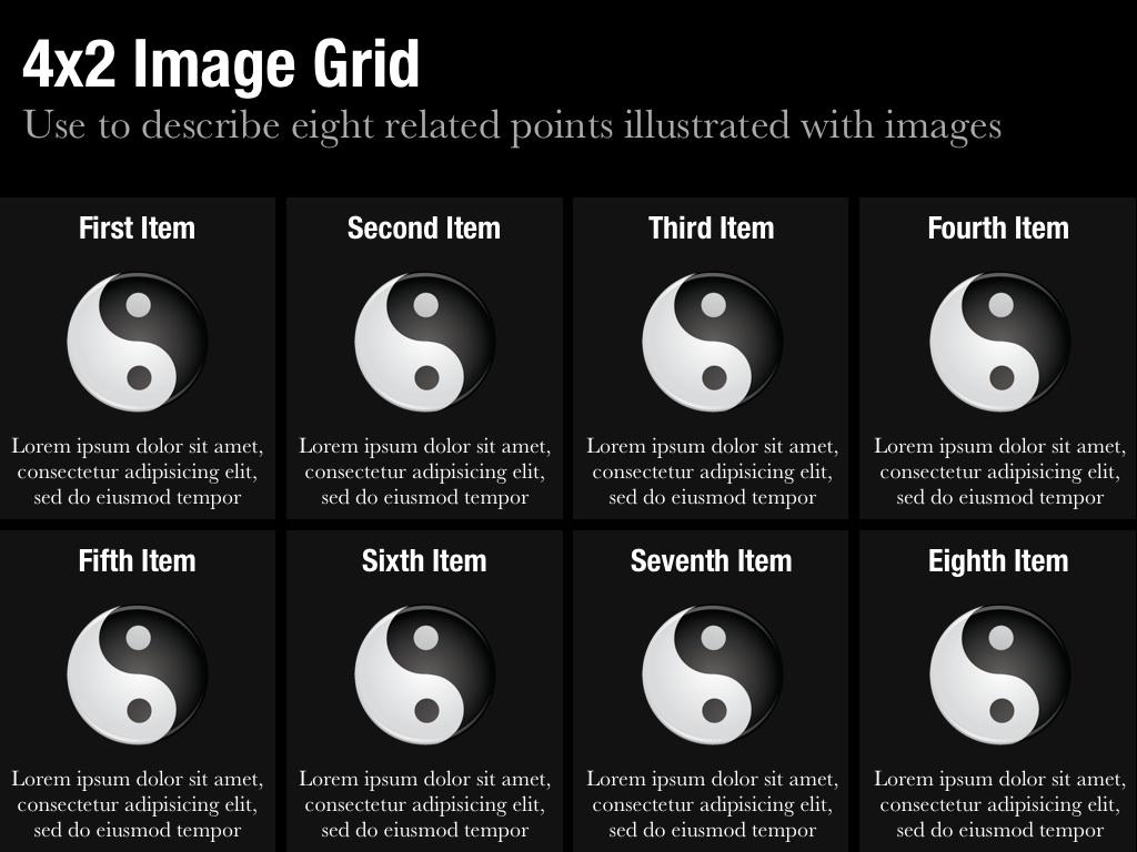 Image Grid Slide