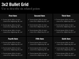 3x2 Bullet Grid Slide
