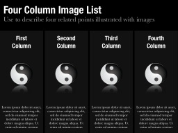 Column Image List Template
