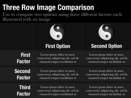 Three Row Image Comparison Slide