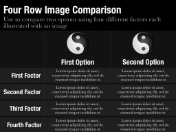 Four Row Image Comparison Slide
