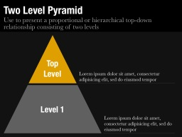 Two Level Pyramid Slide