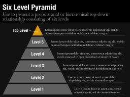 Six Level Pyramid Slide