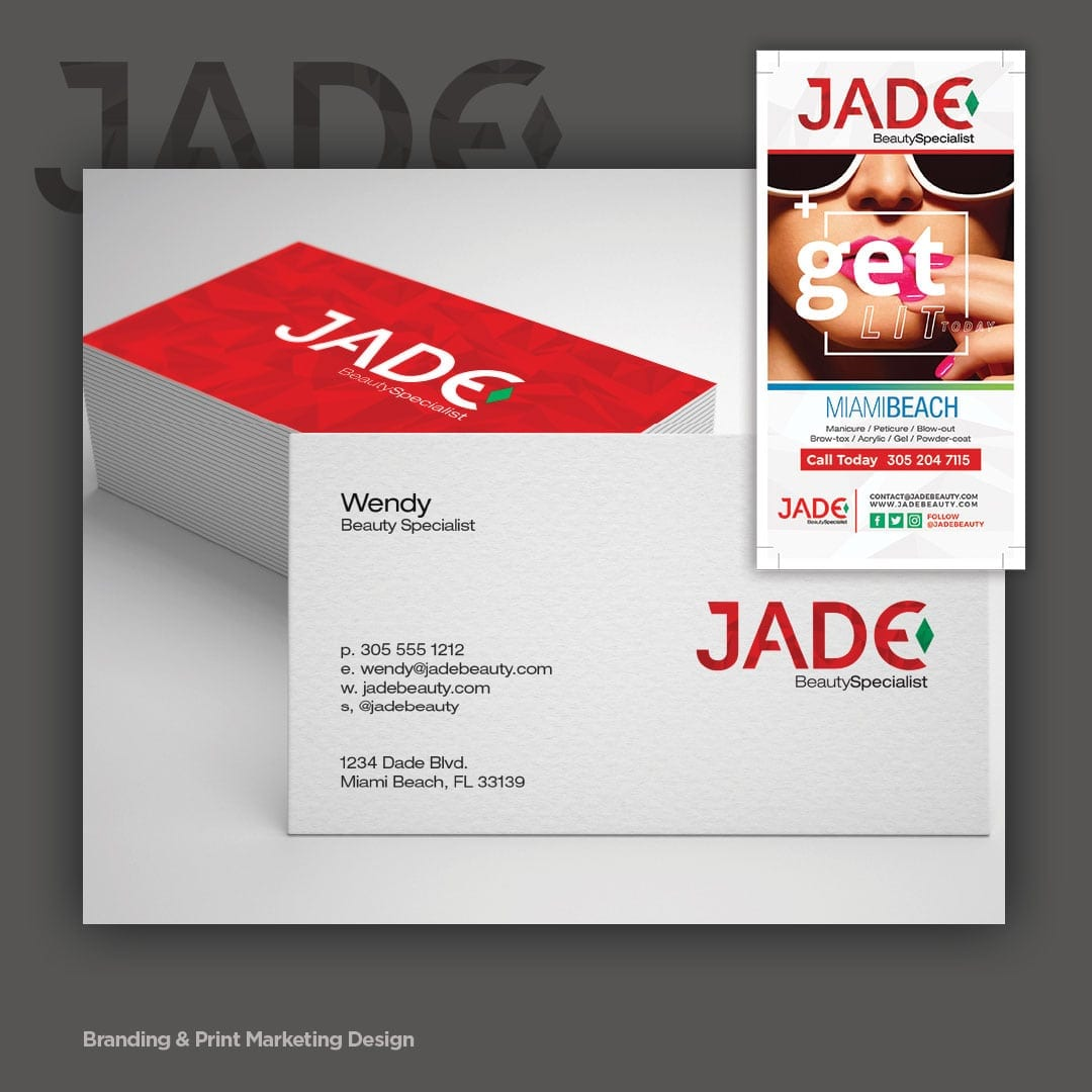 Corporate Identity and Print Marketing Design - sliStudios - Miami Beach