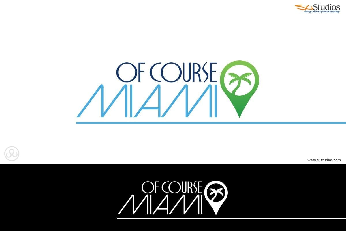 Of Course Miami Branding - Logo Design - Marketing Design - sliStudios - Miami