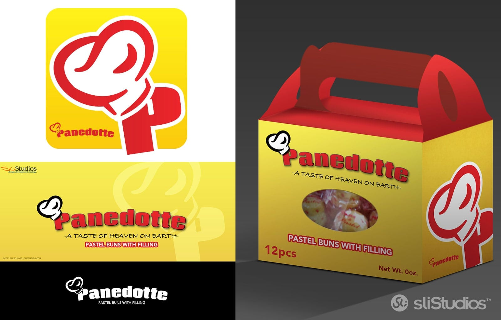 Panedotte Packaging Design - sliStudios - Miami