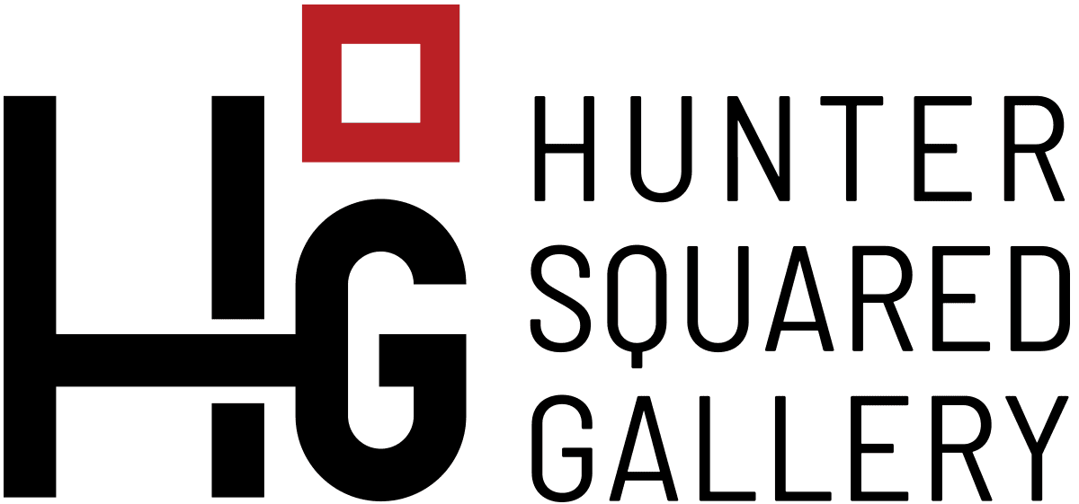 Hunter Squared Contemporary Art Gallery, Santa Fe, NM - sliStudios - Logo Design