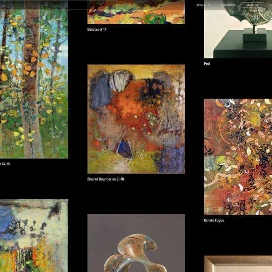 Hunter Squared Gallery Website Design - Santa Fe, New Mexico - sliStudios Web Development Miami