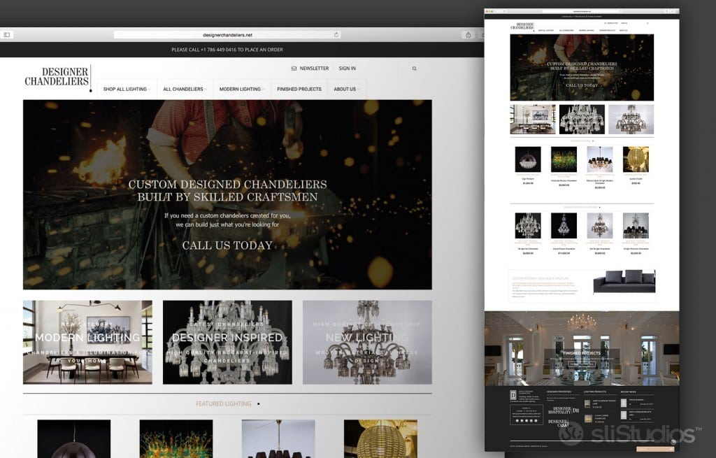 DesignerChandeliers-Website-Design
