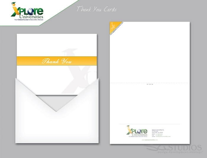 iXplore-Thank You Cards