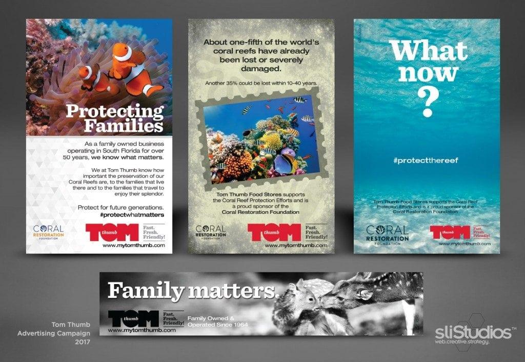 Tom Thumb Food Stores Advertising Campaign - sliStudios