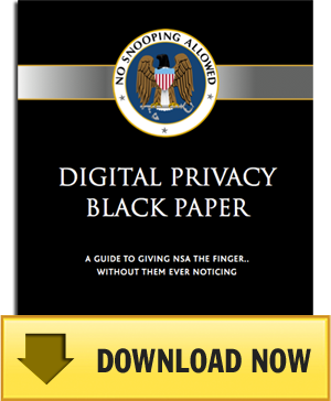 nsablackpaper How To Give The NSA The Finger...Without Them Ever Noticing