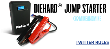 DIEHARD JUMP STARTER | FOLLOW @MIKEANDMIKE ON TWITTER FOR A CHANCE TO WIN ON JANUARY 25TH!