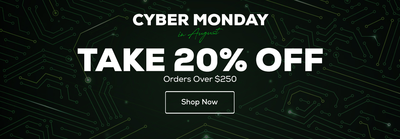 Hero - August Cyber Monday Code