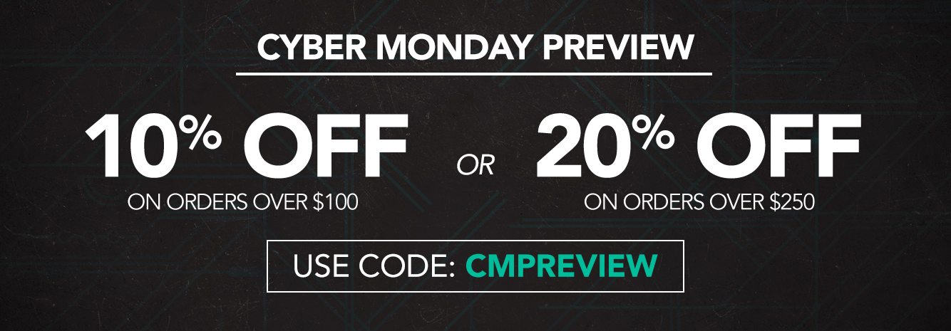 Hero - Cyber Monday Preview BMSM