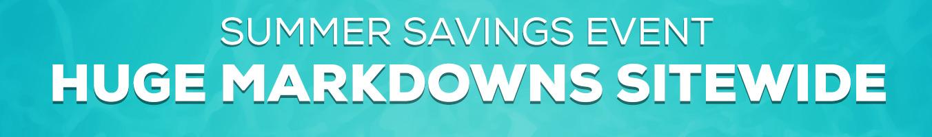 LP Header - Summer Savings Event