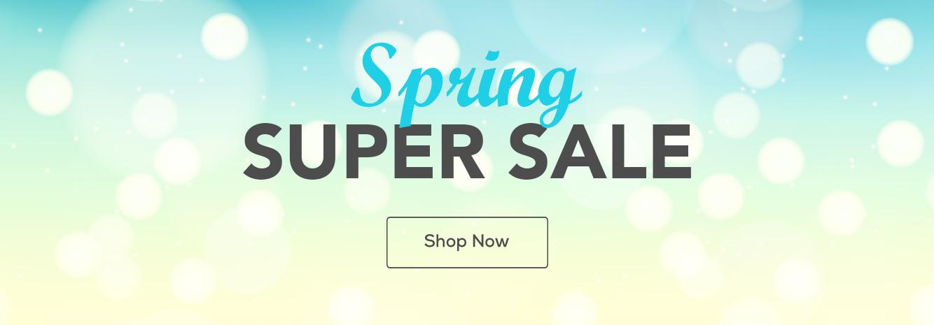 LP Header - Spring Super Sale