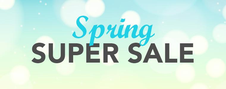 Mobile LP Header - Spring Super Sale