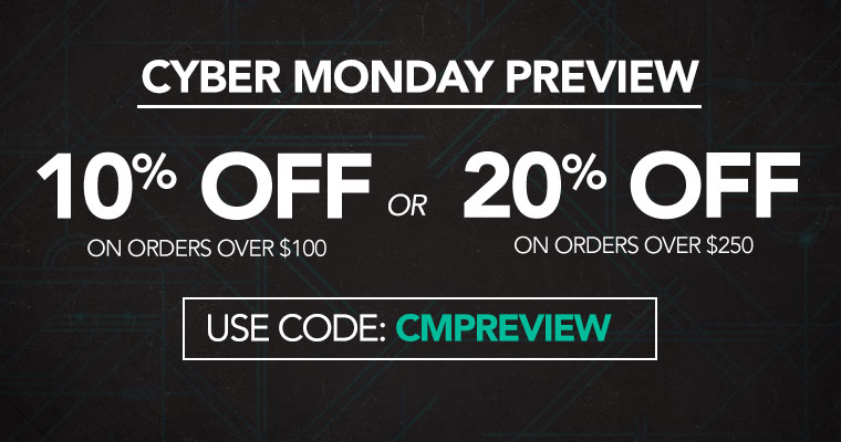 Mobile Hero - Cyber Monday Preview BMSM