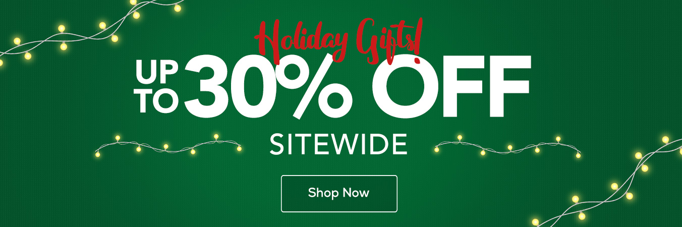 Hero - Holiday Sitewide Sale