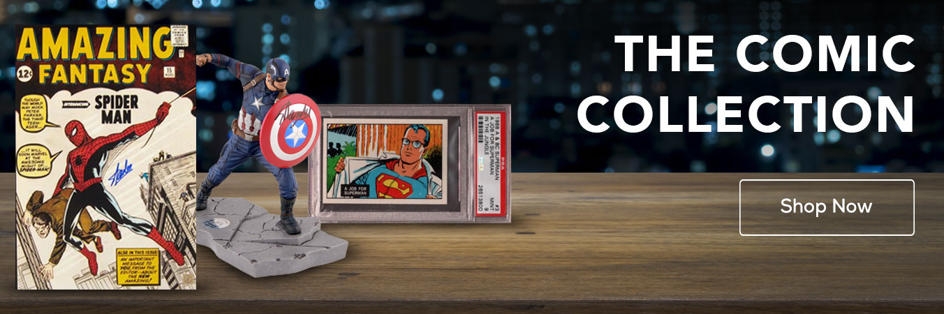 comic collection desktop hero