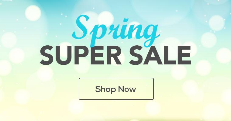 Mobile Hero - Spring Super Sale
