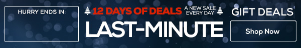12 Days of Deals - Last Minute Gifts