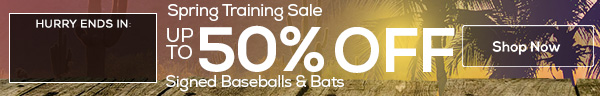 Spring Training Sale