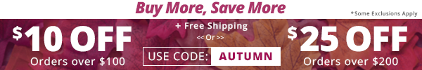 autumn buy more coupon