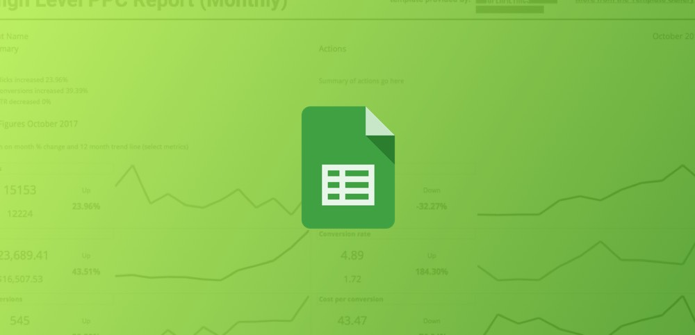 Templates for Google Sheets