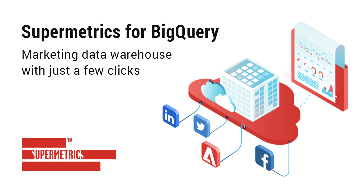 Instantly connect all your marketing data to Google BigQuery