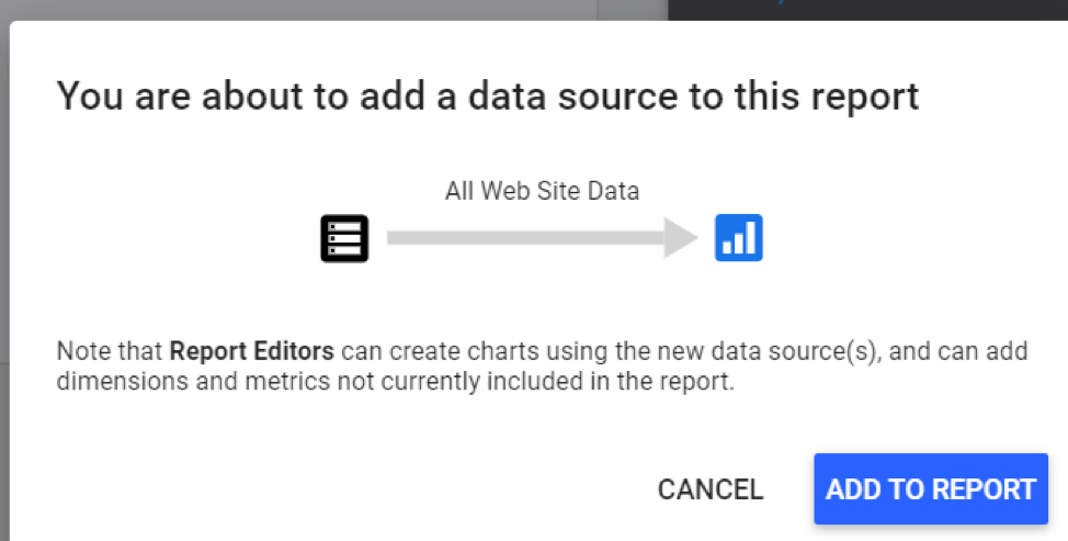 Create marketing dashboards in Google Data Studio