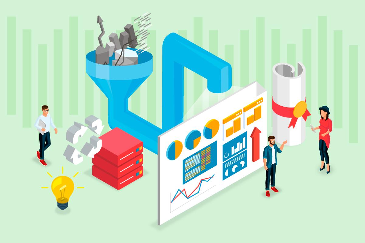 Marketing data pipelines for marketing data warehousing.