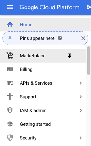 How to find the Google Cloud Marketplace