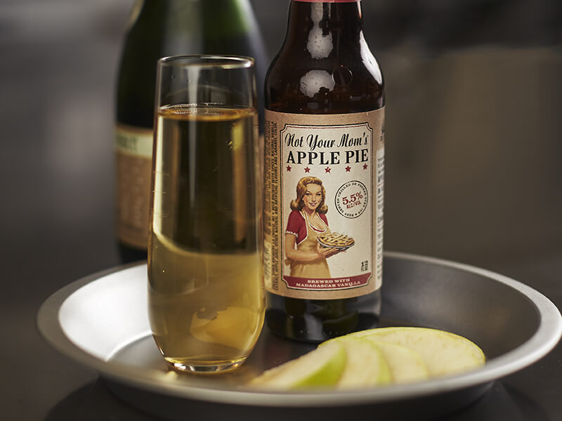 Not Your Mom's Apple Pie Mimosa