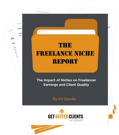 The Freelance Niche Report (image)