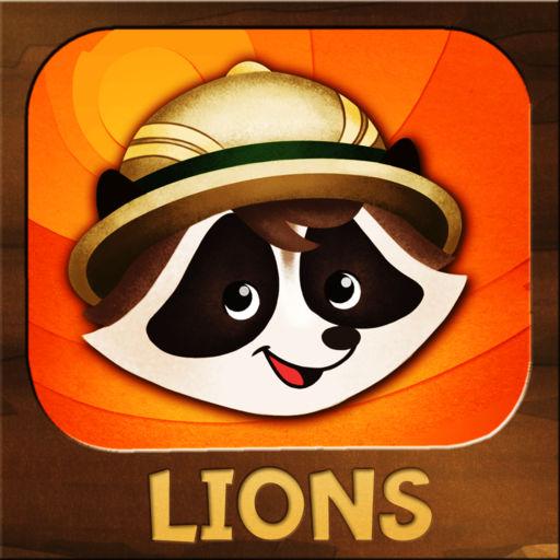 Ranger Rick Jr. Appventures: Lions