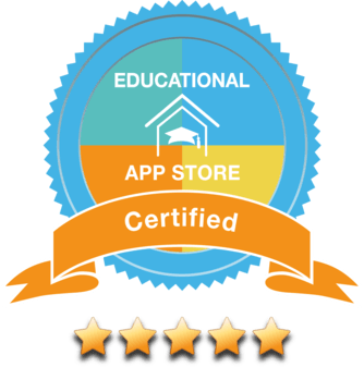 Educational App Store 5-star badge image