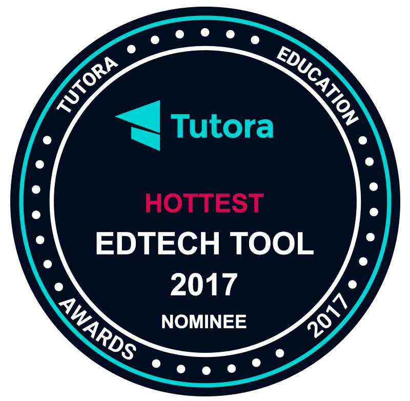Tutota 2017 Hottest EdTech Award Badge