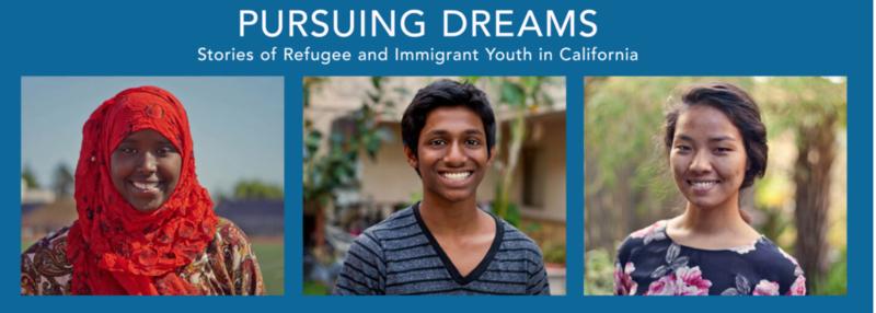 Three child refugees