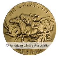 Caldecott award icon on ala