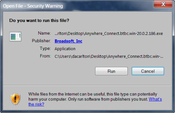 Open File - Security Warning window with option to Run or Cancel - Image opens in full resolution in a new tab
