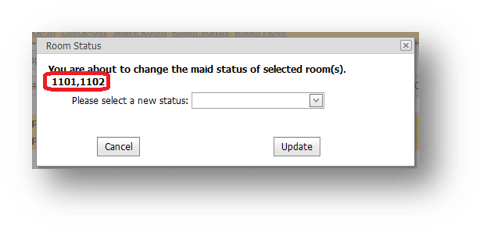 Room Status window is shown with Room 1101 and 1102 highlighted - Image opens in full resolution in a new tab
