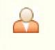 User Status showing orange avatar indicating ringing