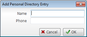 Add personal directory window with name and phone fields - Image opens in full resolution in a new tab
