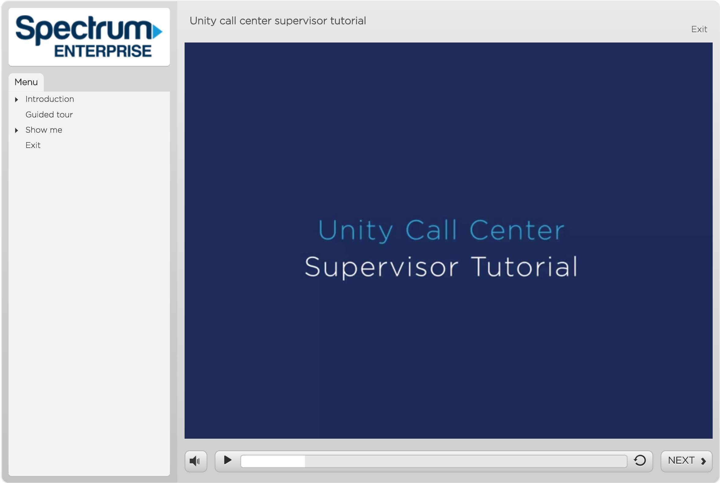 Unity call center supervisor tutorial