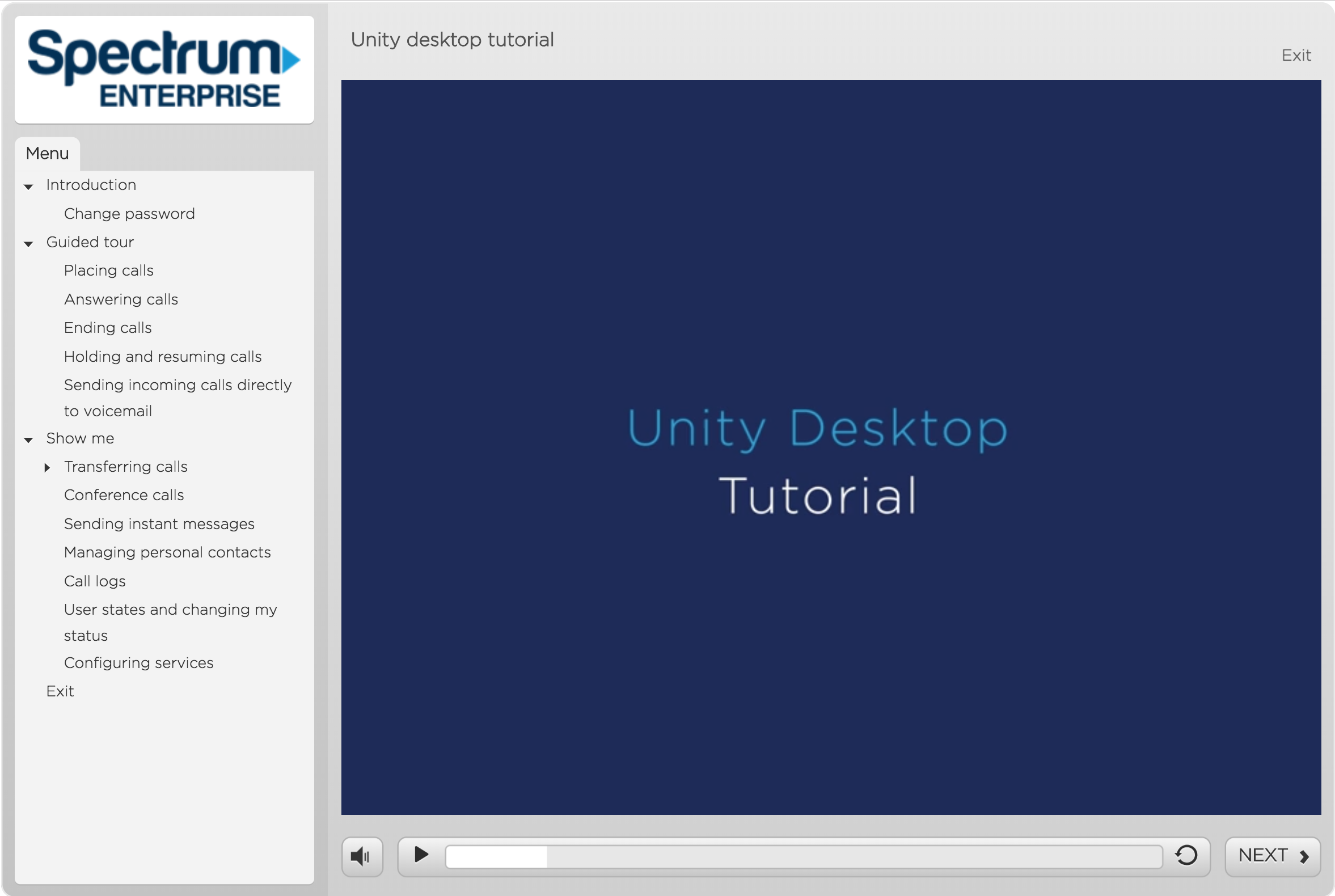 Unity desktop application tutorial