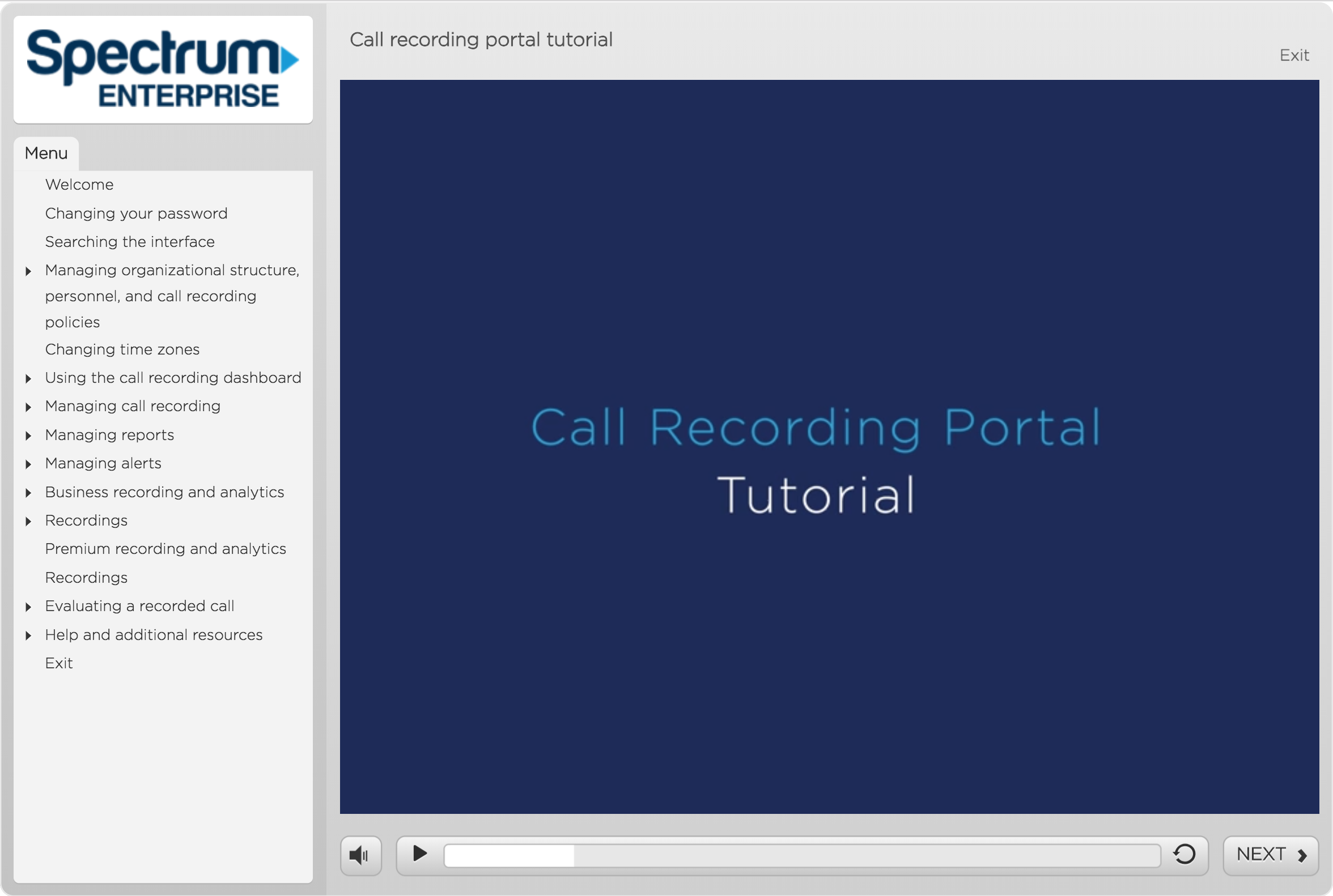 Call Recording Portal Tutorial